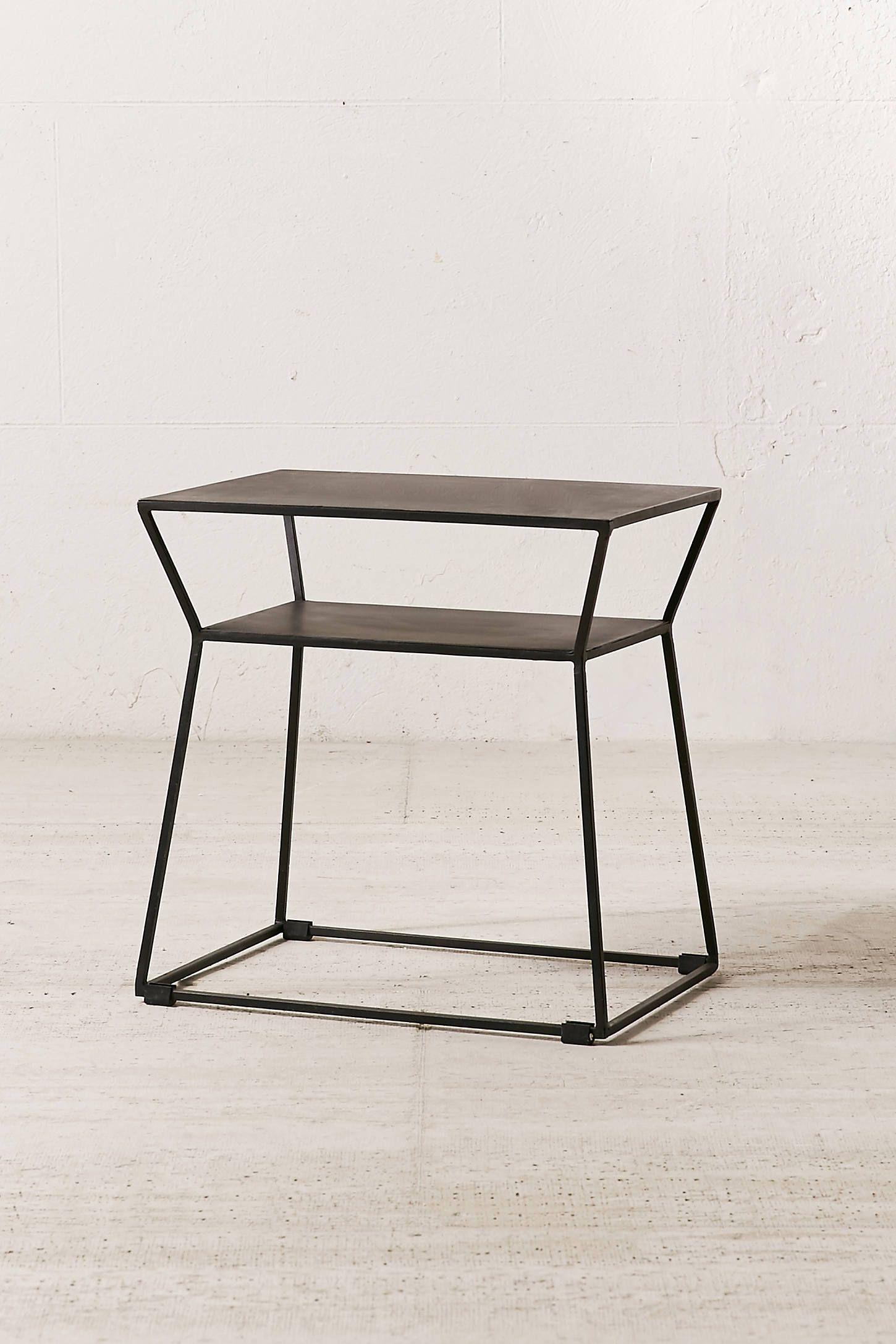 Osaka metal side table in apt pinterest metal side table