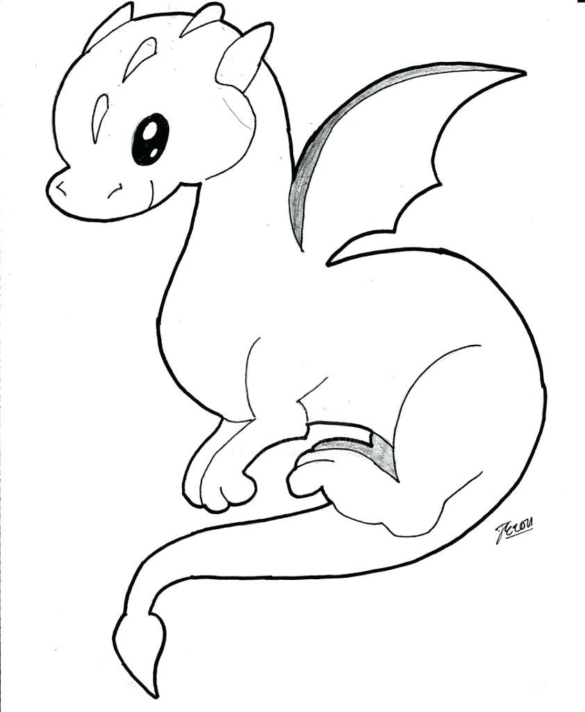 Cool Dragon Coloring Pages Ideas Easy Dragon Drawings Cute Dragons Mermaid Coloring Pages