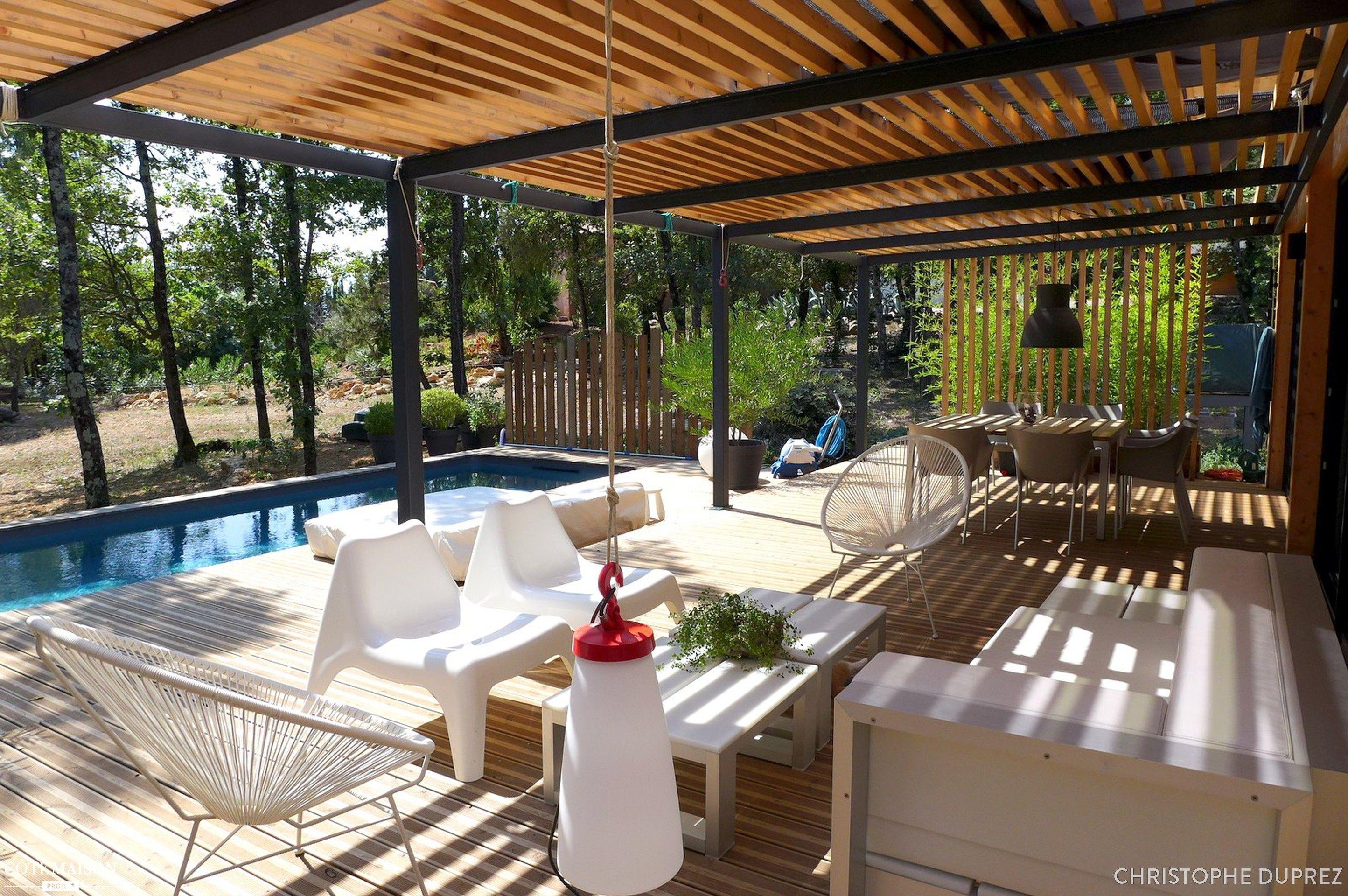 Fabriquer Une Tonnelle En Bois une maison à ossature bois, christophe duprez - côté maison