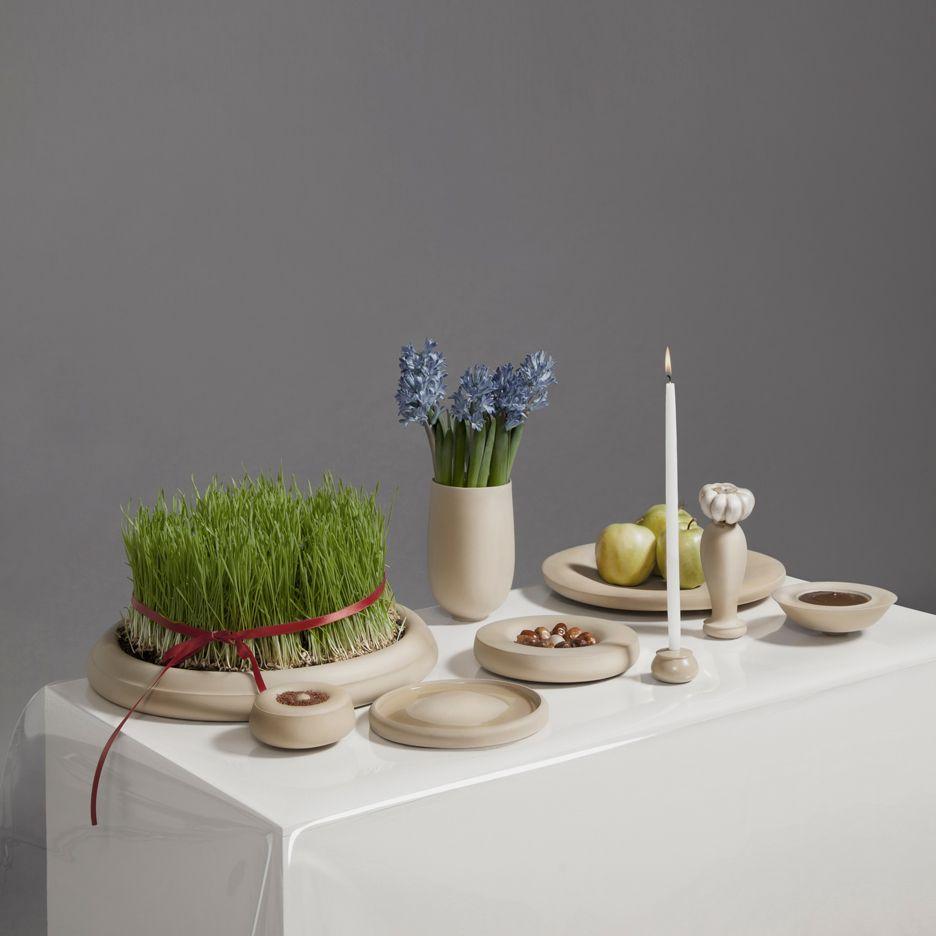 Haft Sin ceramics by Hozan Zangana