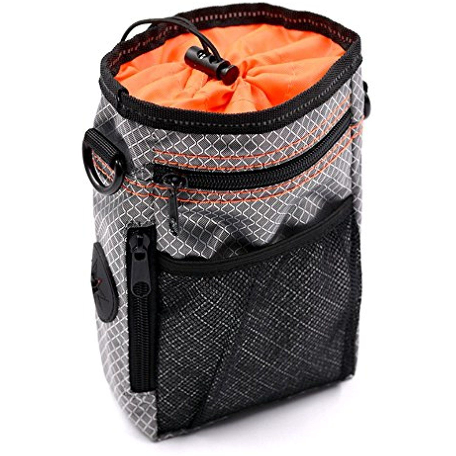 Dxable Dog Training Pouch Treat Bag Dual Compartments Insulated