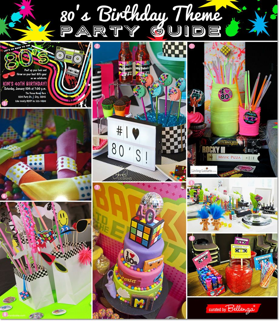 80 s dance party guide for a 40th birthday bash grown ups