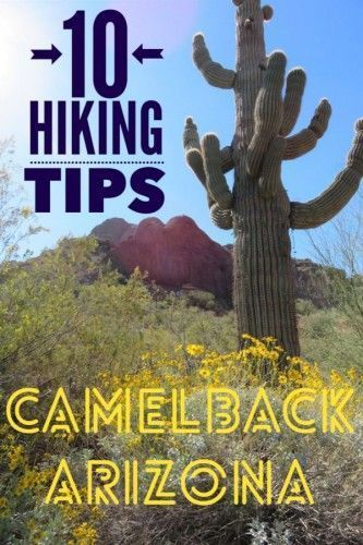 Looking to do some hiking near Phoenix Arizona? Click for 10 best hiking tips before climbing #Camelback Mountain Arizona one of the most popular urban kikes in the USA . #hiking #Camelbackmountain #Phoenix #Arizona #hikingArizona #hikingtips