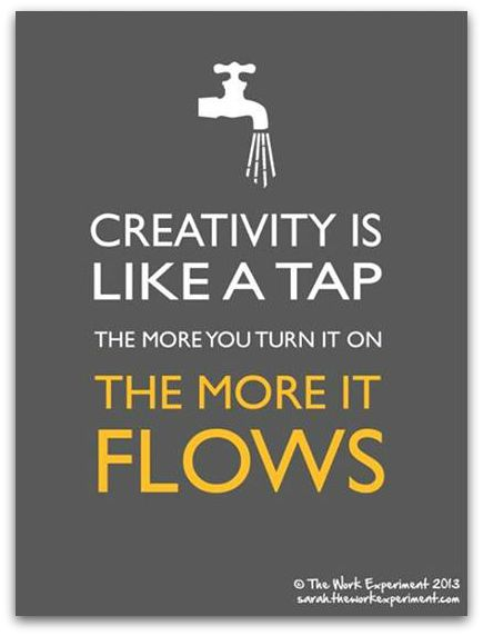 Meme Of The Week Creativity Faucet Quotes Art Quotes Creativity