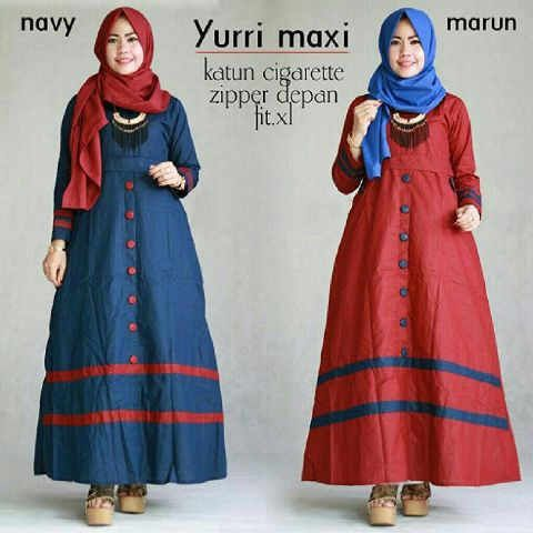 Baju Muslim Remaja Yurri Maxi Trendy Http