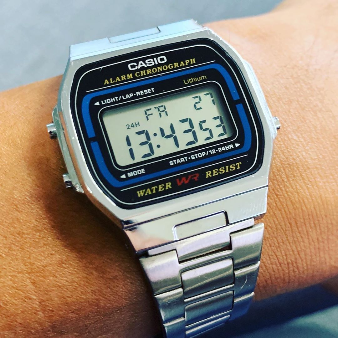 Another Casio Classic A 164w Retro Baby Casio Casiowatch Casioa164w Retro Retrowatch Classicwatches Classicwatch Reloj Retro Retro Reloj