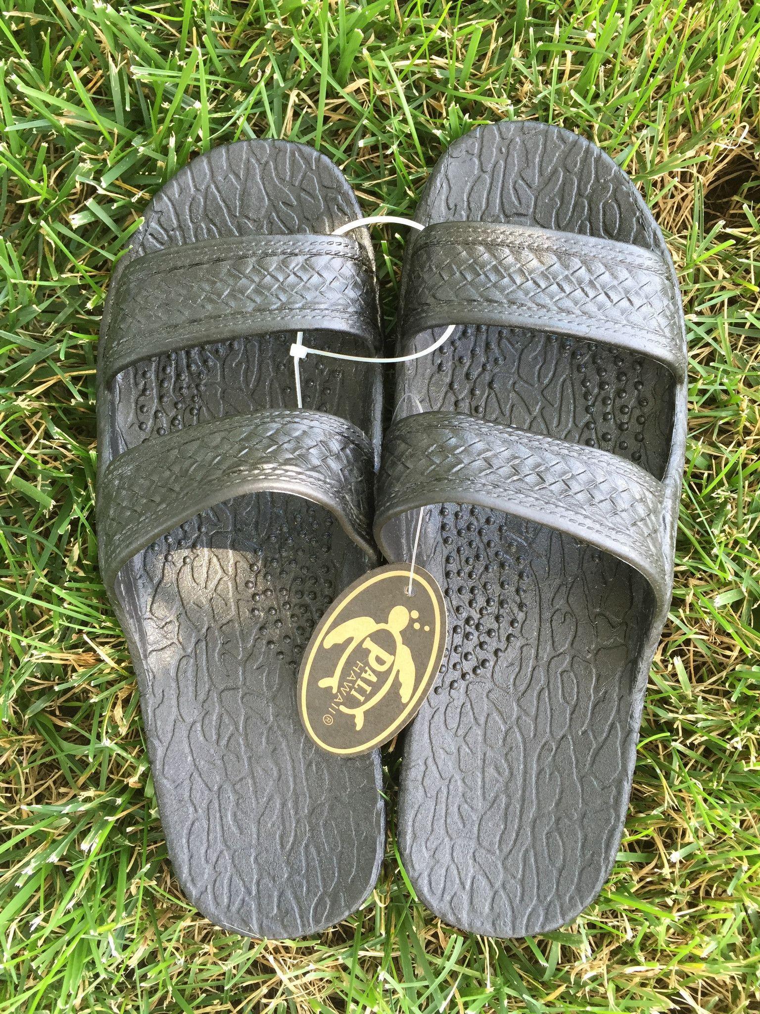 Black jesus sandals - Pali Hawaii Sandals Jandals Jesus Sandals Black