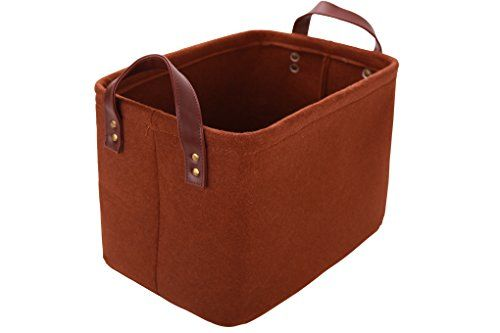 Exceptionnel [Toy Storage Ideas] Perber Storage Baskets,Decorative Collapsible  Rectangular Felt Fabric Storage Bin