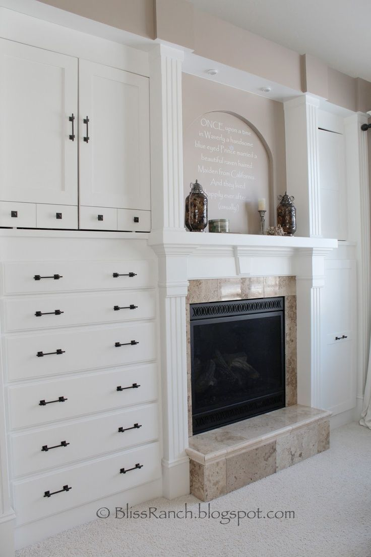 Built in dressers for bedrooms bedroom built in dresser more drawers instead of the fireplace dont