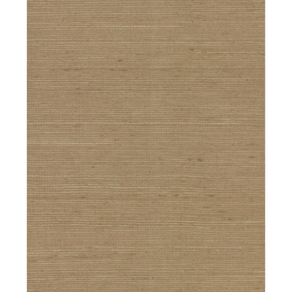 Magnolia Home 72 Sq. Ft. Plain Grass Brown Wallpaper