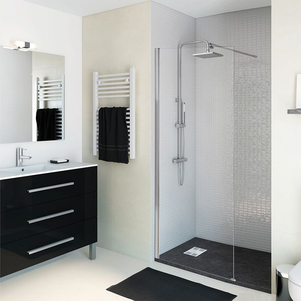 Paneles de ducha para espacios abiertos - Leroy Merlin ...
