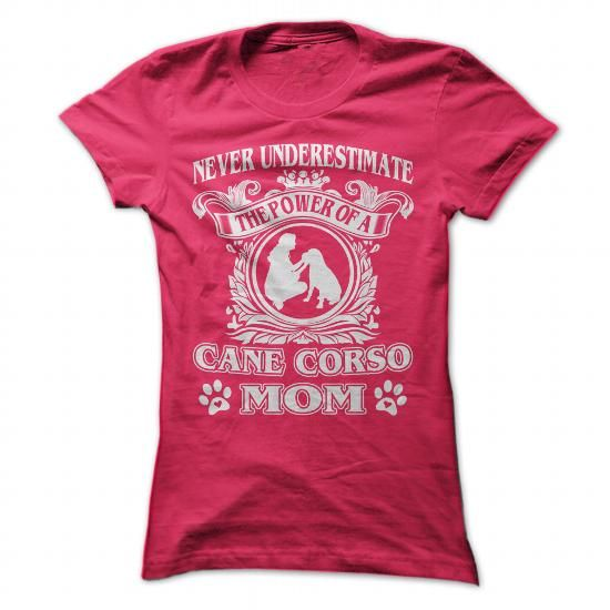 Proud Cane Corso Mom - #diy gift #love gift. ACT QUICKLY => https://www.sunfrog.com/Pets/Proud-Cane-Corso-Mom-HotPink-Ladies.html?68278