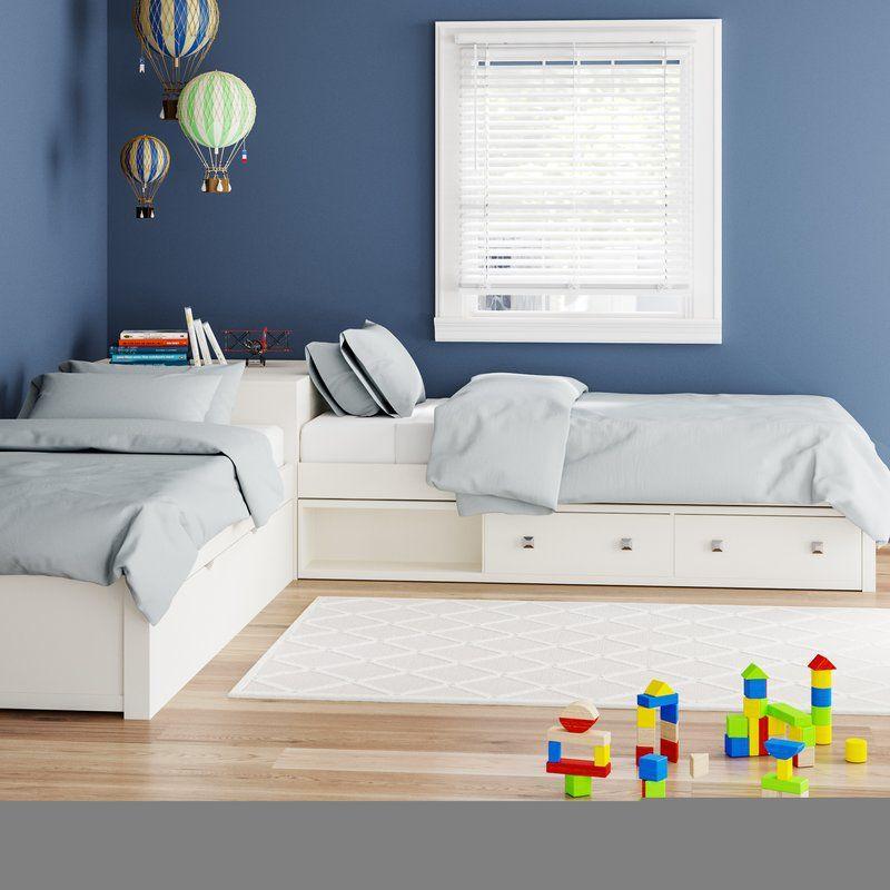 Viv Rae Granville Storage Twin Platform L Shaped Bed With