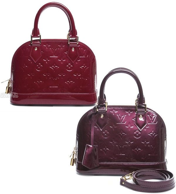 1f04f4a2505 Pre-Owned on BlueFly  Louis Vuitton Vernis Alma BB Bag