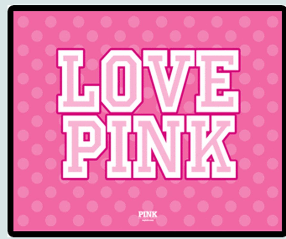Pink Love Wallpaper: Love Pink
