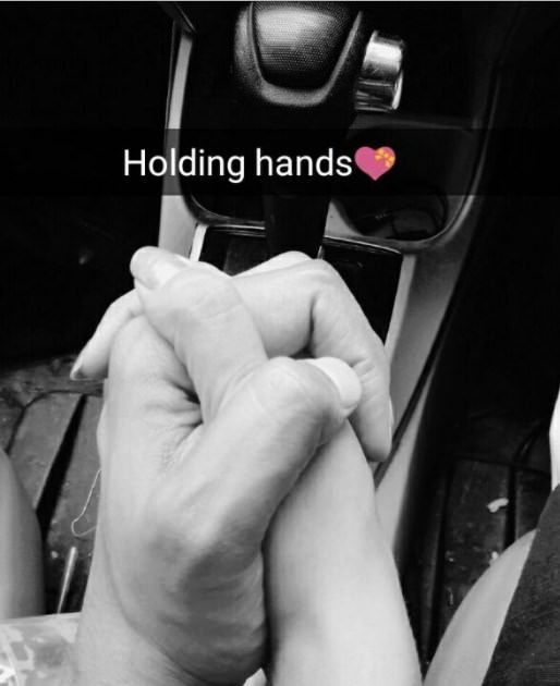 Couple Love Holding Hands In Car Lovers Hands Couple Hands