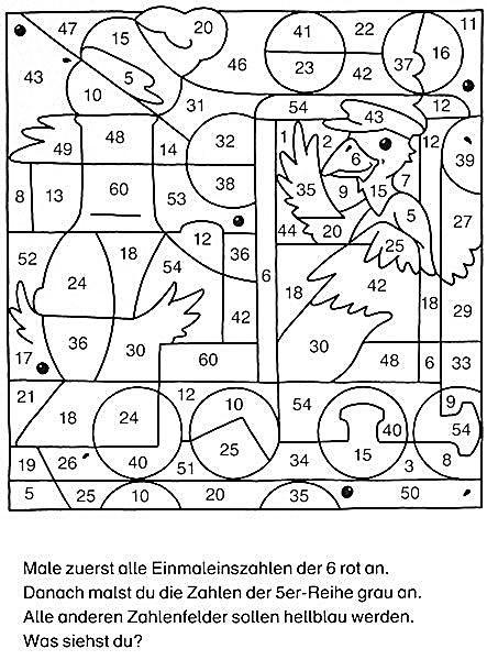 ausmalbilder mathematik grundschule 07  kochrezepte