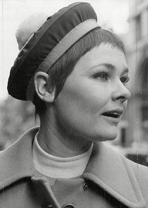 dame judi dench pictured in the 1950s ladies