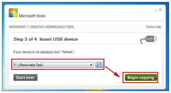 Windows 7 USBDVD Download Tool Offline Installer Free | Download
