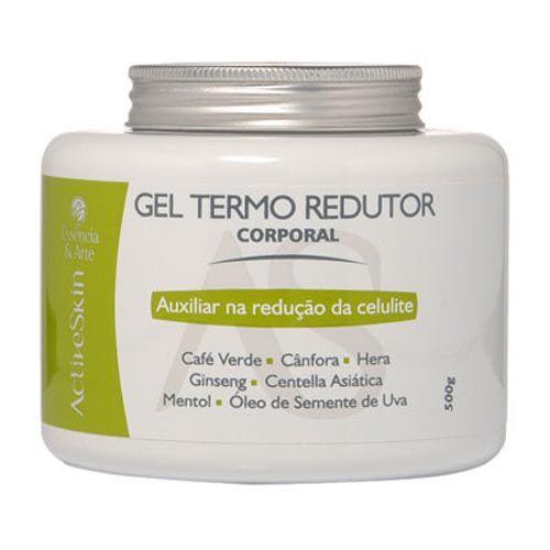 Gel Termo Redutor - 500g: Especialmente elaborado com ativos de excelente performance, o Gel Termo Redutor auxilia no controle da celulite e da gordura localizada.