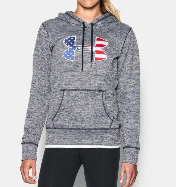087ae3ae50 Women's Armour Fleece® Big Flag Logo Hoodie in 2019 | Jackets ...
