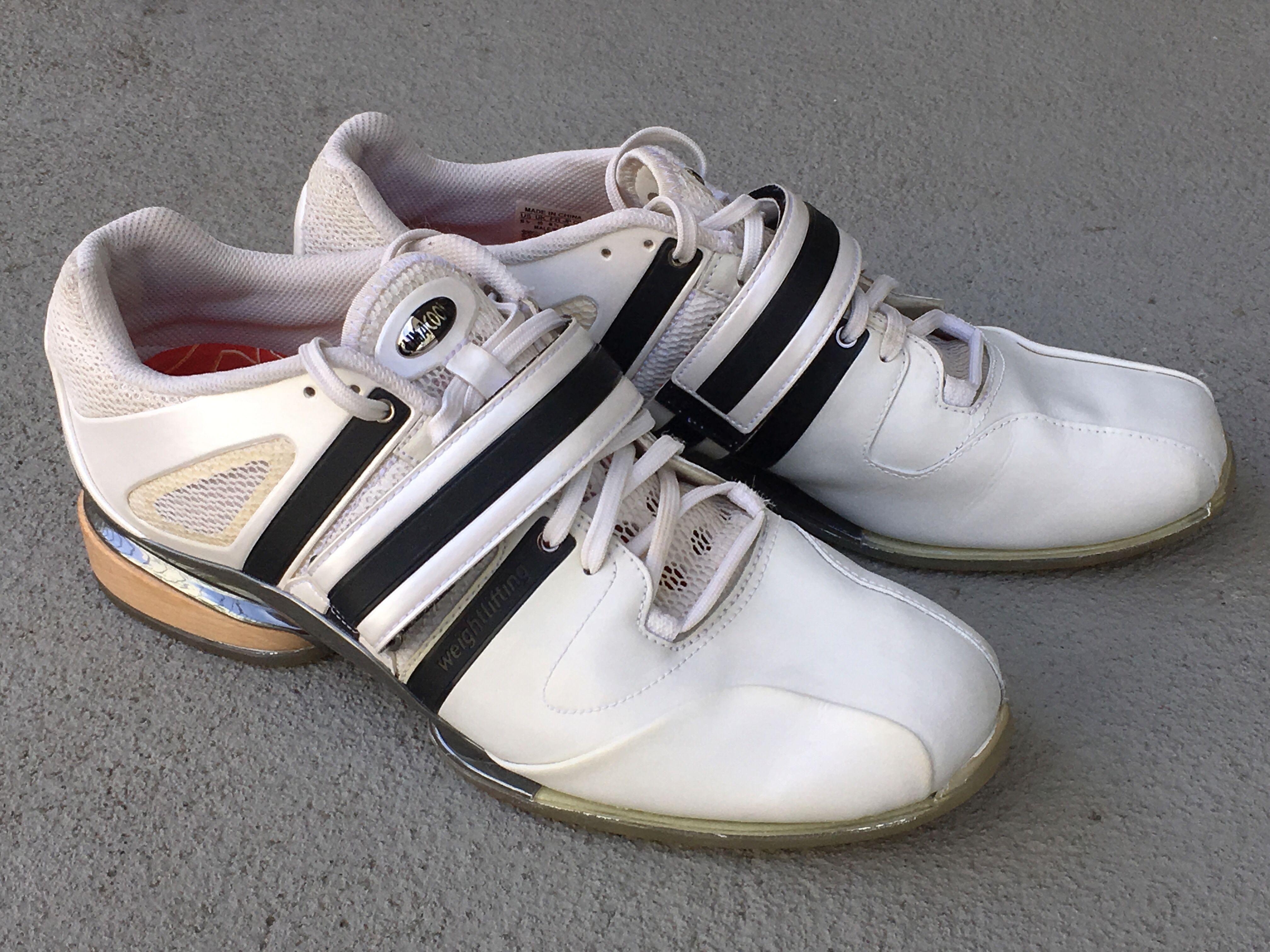 Adidas Adistar Weightlifting Shoes Ebay Silver Superstar
