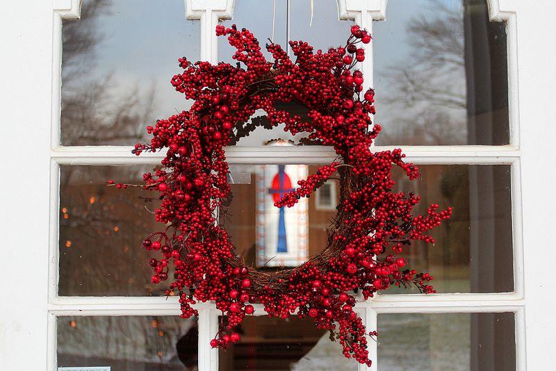 chapel wreath Hanover college, Chapel, Wreaths