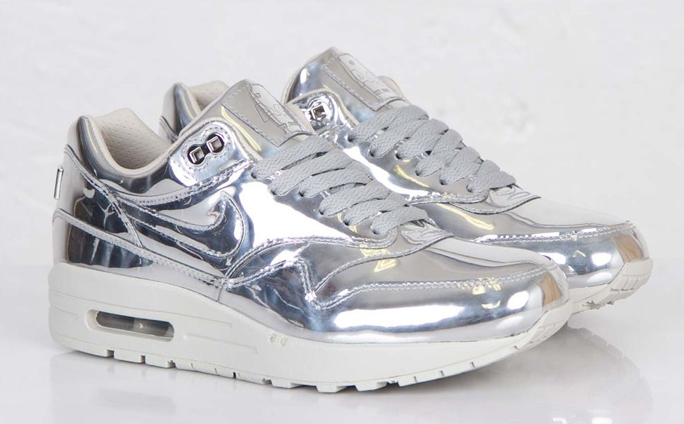 "145f4f7c5f ... Nike WMNS Air Max 1 SP ""Liquid Silver"" - (Detailed Photos) KicksOnFire  ..."
