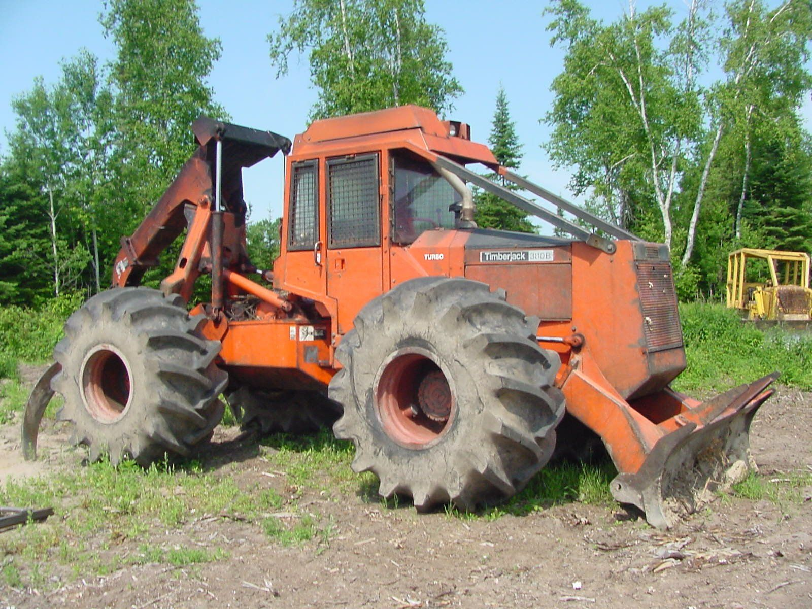 Tree farmer skidder for sale in ny - Skidders 1988 Timberjack 380b