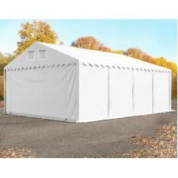 Photo of Storage tent 5×8 m – 2.6 m side height, Pvc 550 g / m², with base frame shelter, toolport storage