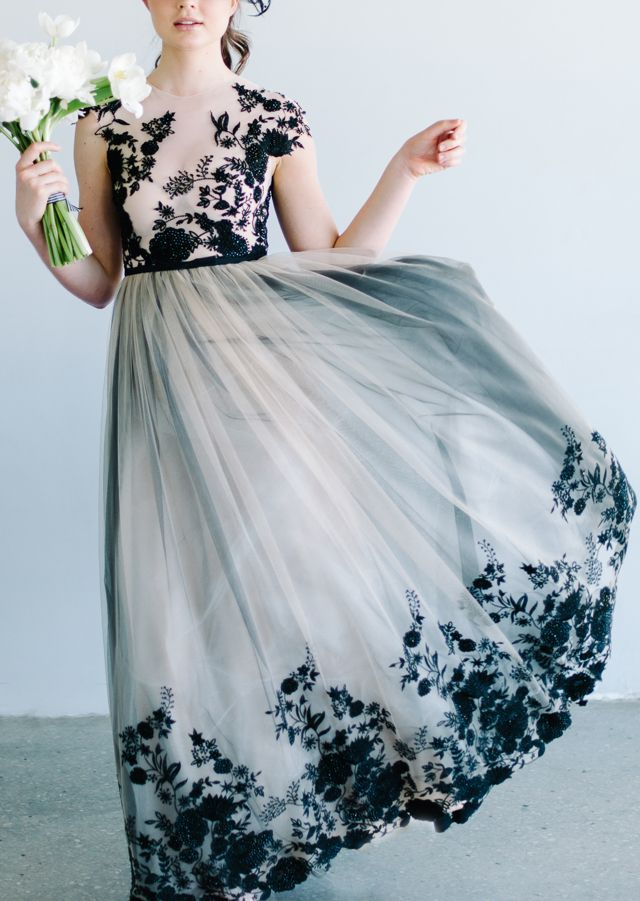 coco chanel inspired shoot | Black wedding dresses, Coco chanel and ...