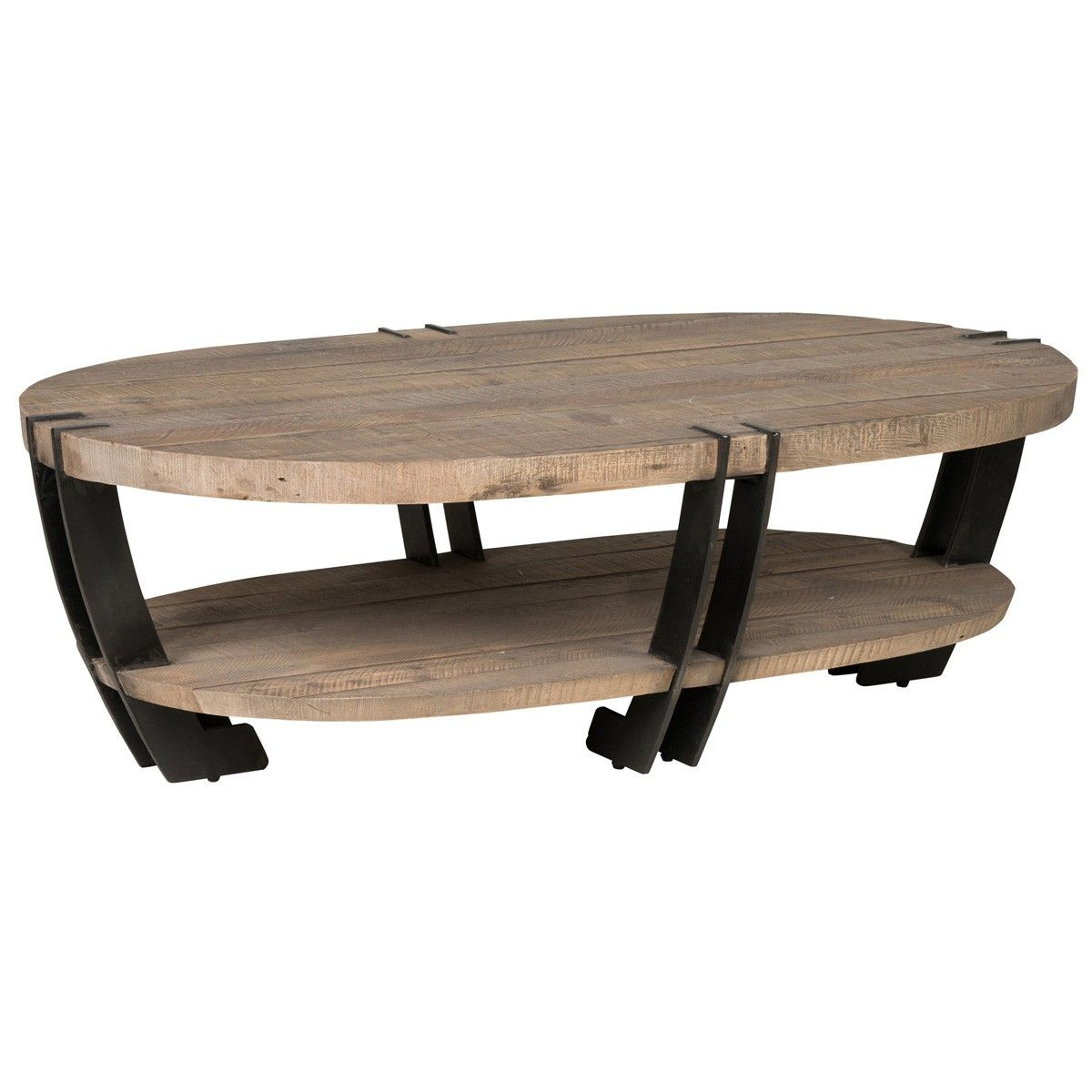 Marcelo Oval Coffee Table Occasional Tables Furniture Products Handcrafted Sustainable Furnish Interieur Woonkamer Industriele Salontafels Salontafel [ 1200 x 1200 Pixel ]