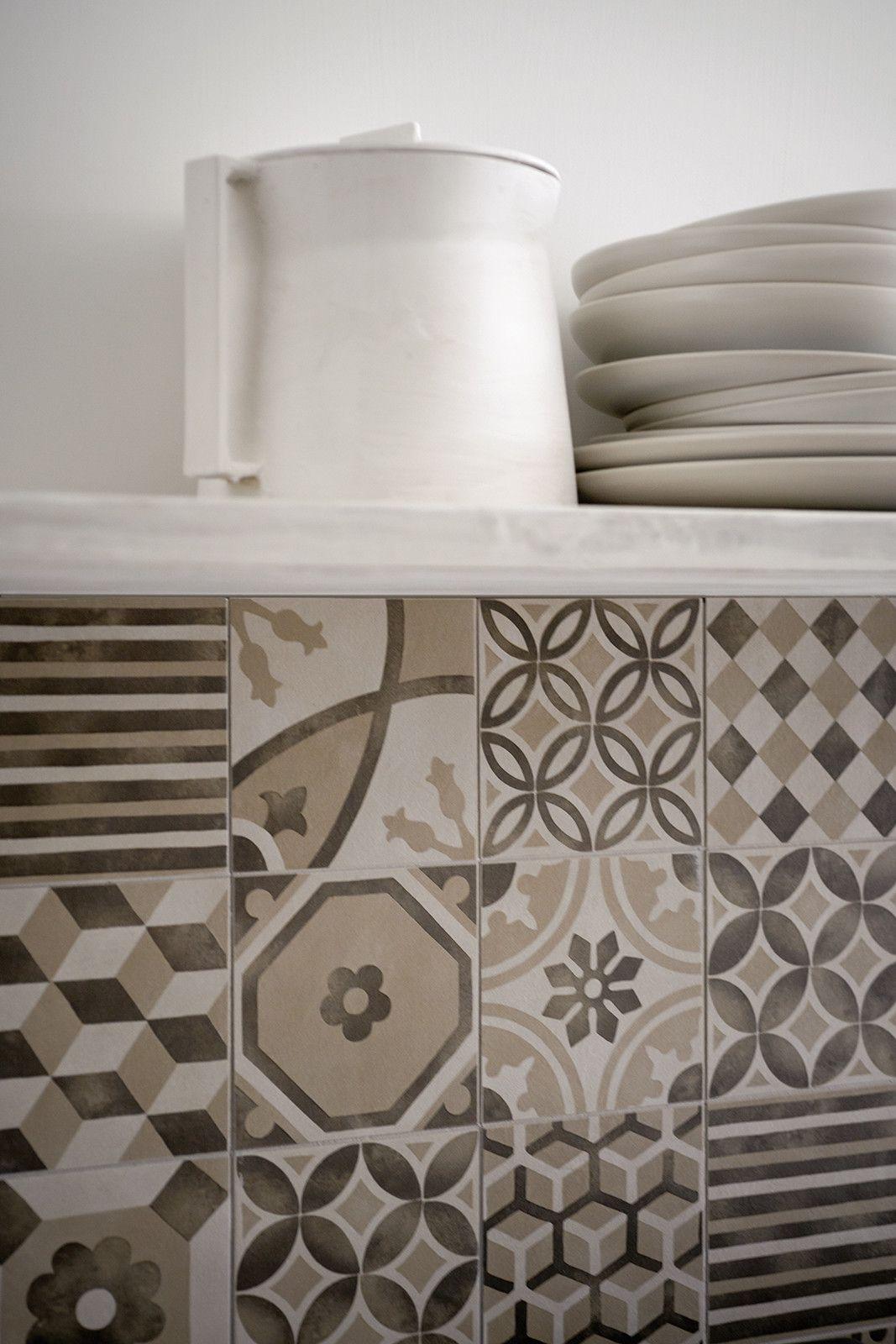 Marazzi #Block Decoro Naturale Beige 15x15 cm MH92 | #Gres #decorati ...