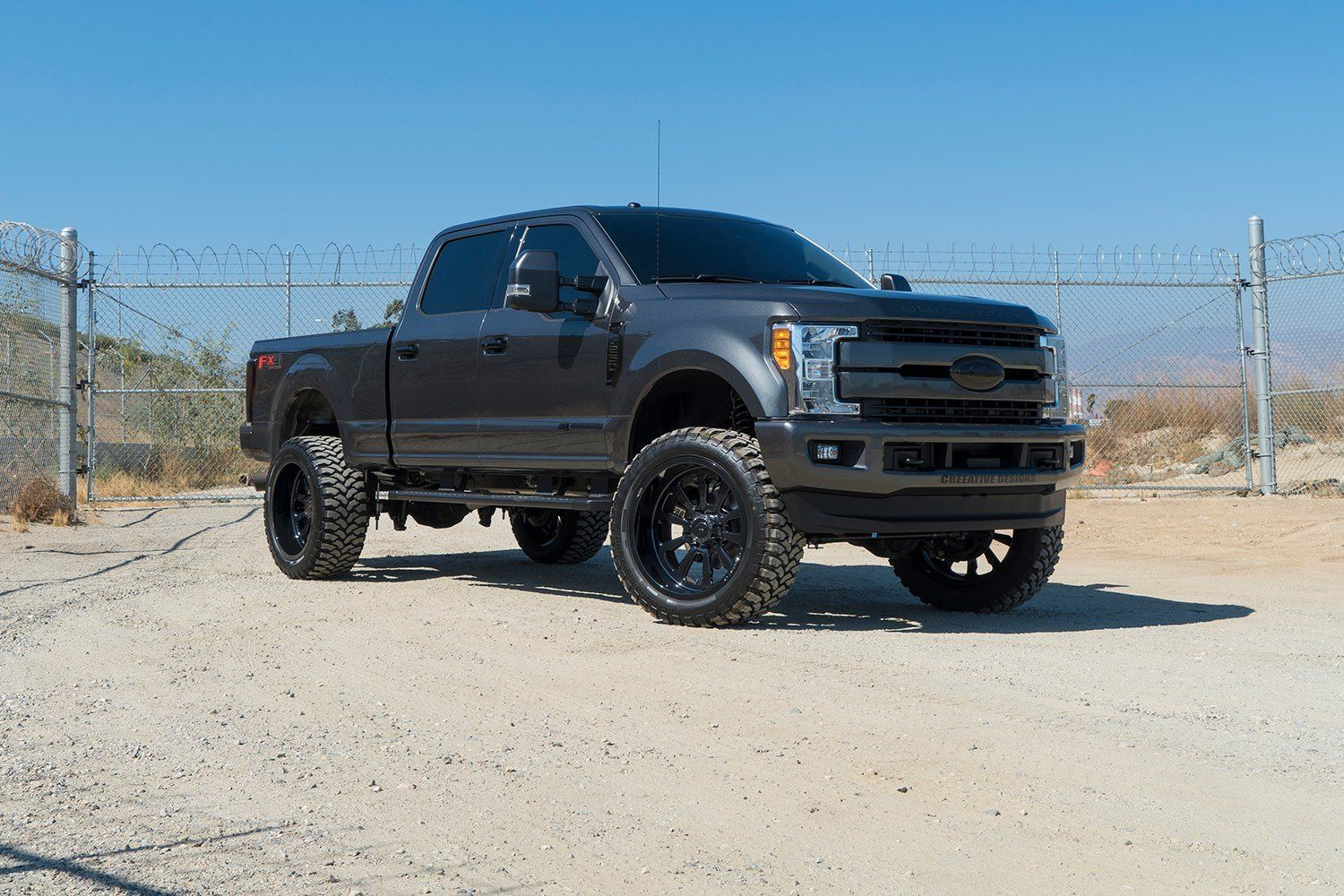 When Style Meets Truck Performance Customized Black Lifted Ford F