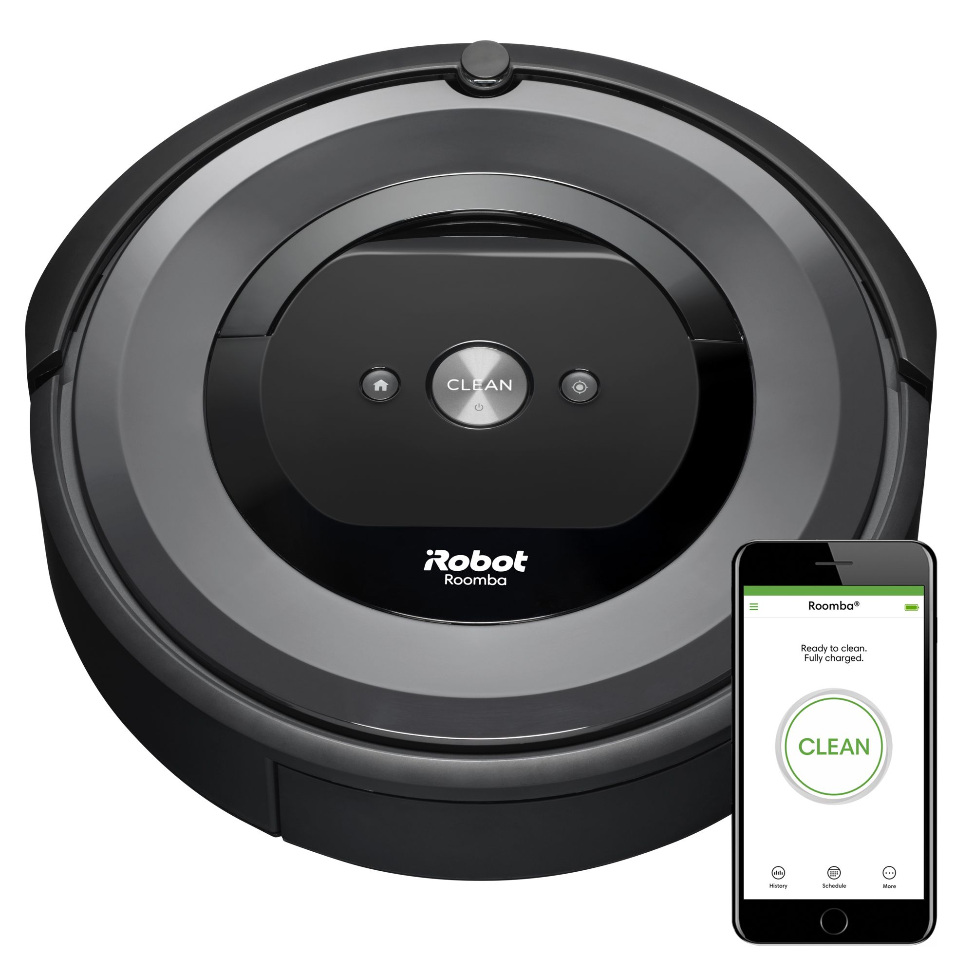 iRobot Roomba e6 (6134) WiFi Connected Robot Vacuum Wi