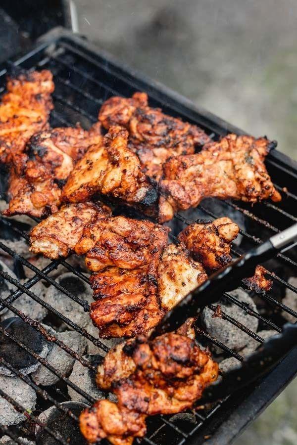Cuisses de poulet désossées grillées - My Active Kitchen