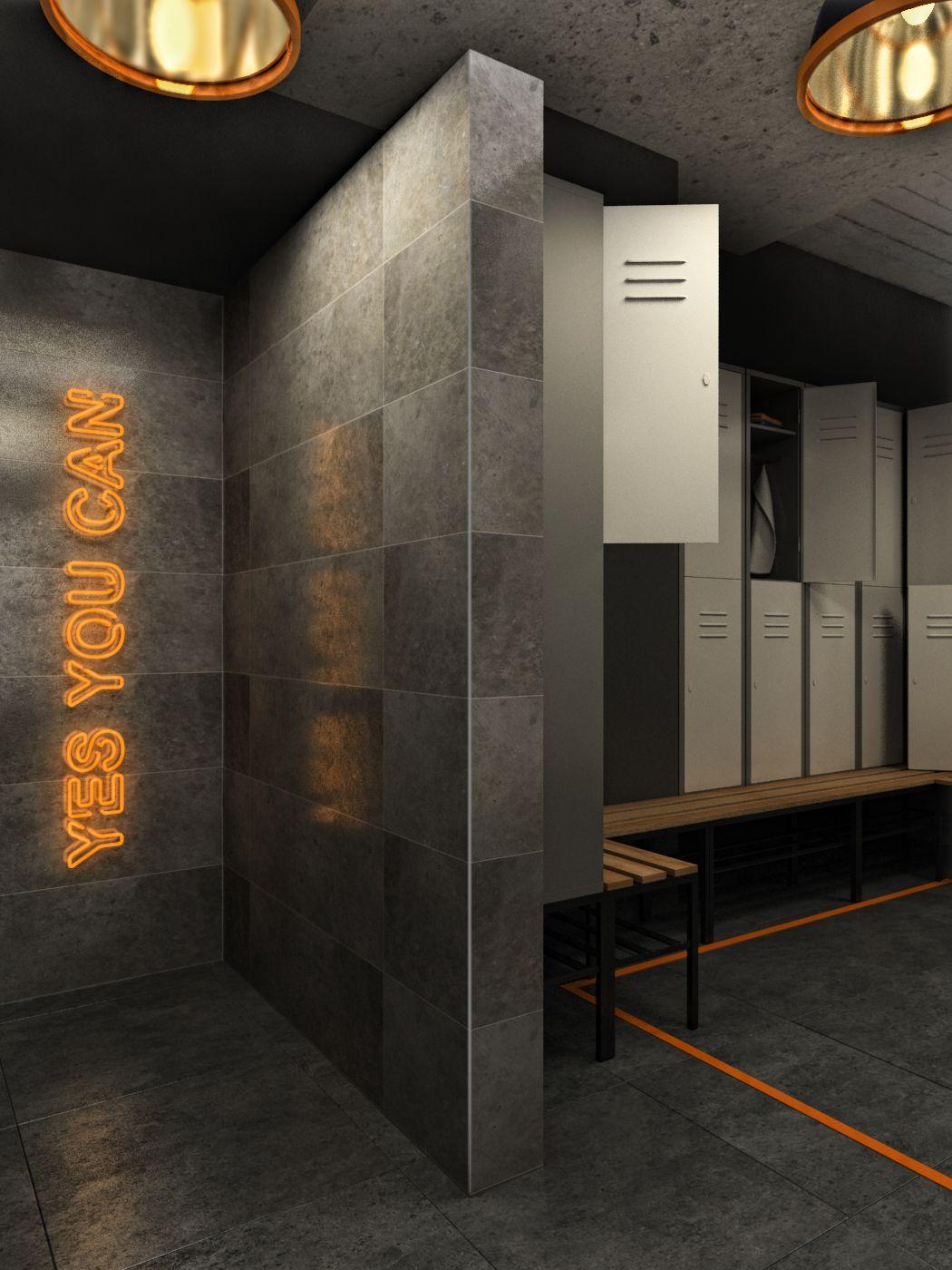 Gym Samia Allouba On Behance Gym Interior Gym Design