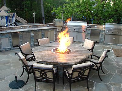 fire pit table outdoor kitchen our videos and projects