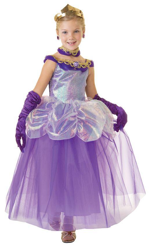 Princess Iris Dress | Girls play dresses, Dress up outfits, White princess  dress