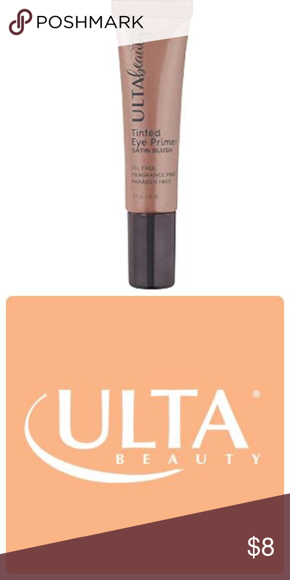 Ulta Beauty Tinted Eye Primer Satin Blush Mini Boutique