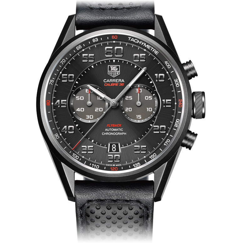 TAG Heuer TAG Heuer CARRERA Calibre 36 Flyback Automatic ...