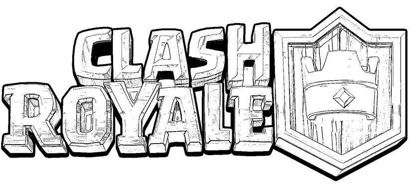 Clash Royale Coloring Desenhos