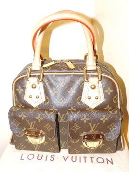 86bc79ef1342 Louis Vuitton Manhattan Pm Monogram Bag - Satchel. Save 37% on the Louis  Vuitton