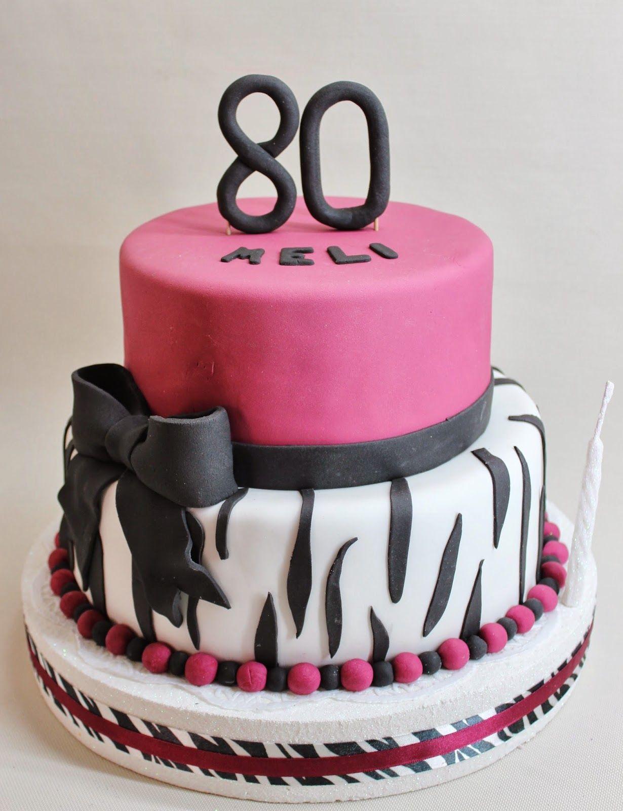 Torta mujer 80 a os buscar con google tortas for Decoracion 80 anos hombre