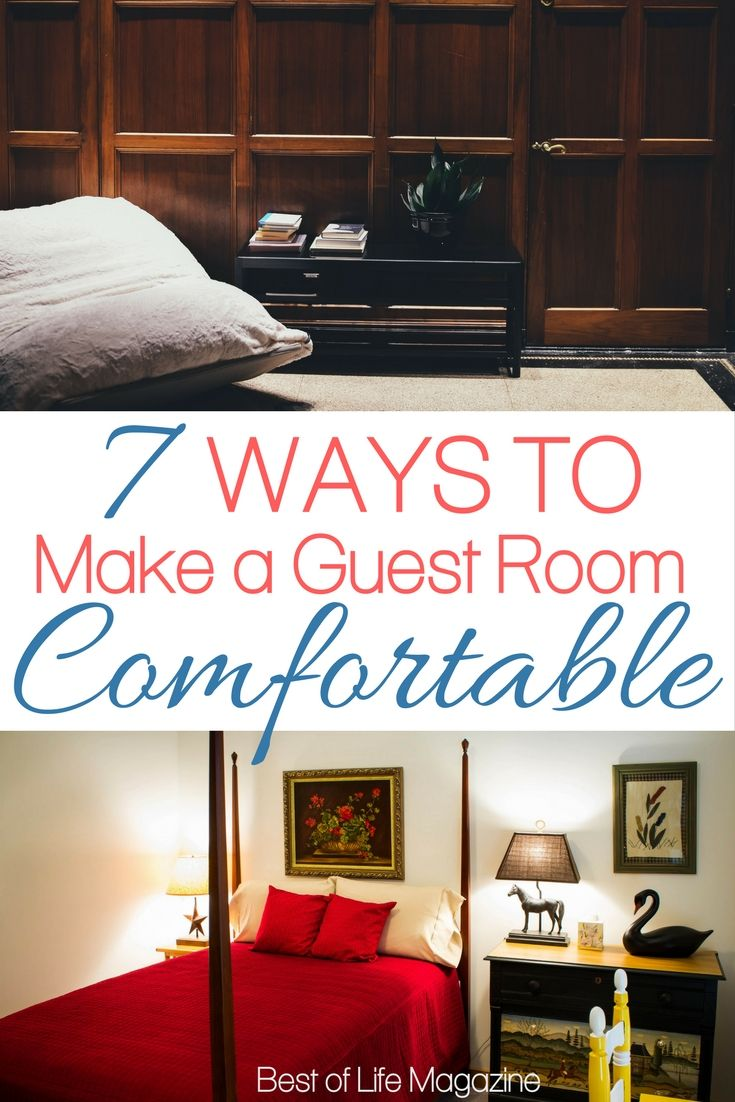 Room · Make Guests Feel At Home ...