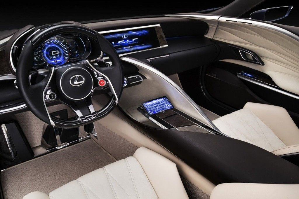 Lexus LF LC Blue Concept 2012 Widescreen Exotic Car Picture Of 24 :  DieselStation