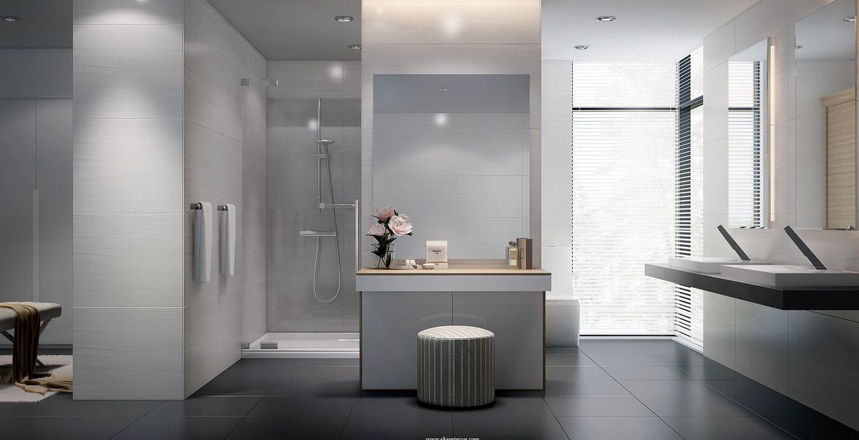 large tile bathrooms - Yahoo Image Search Results | bathrooms ...