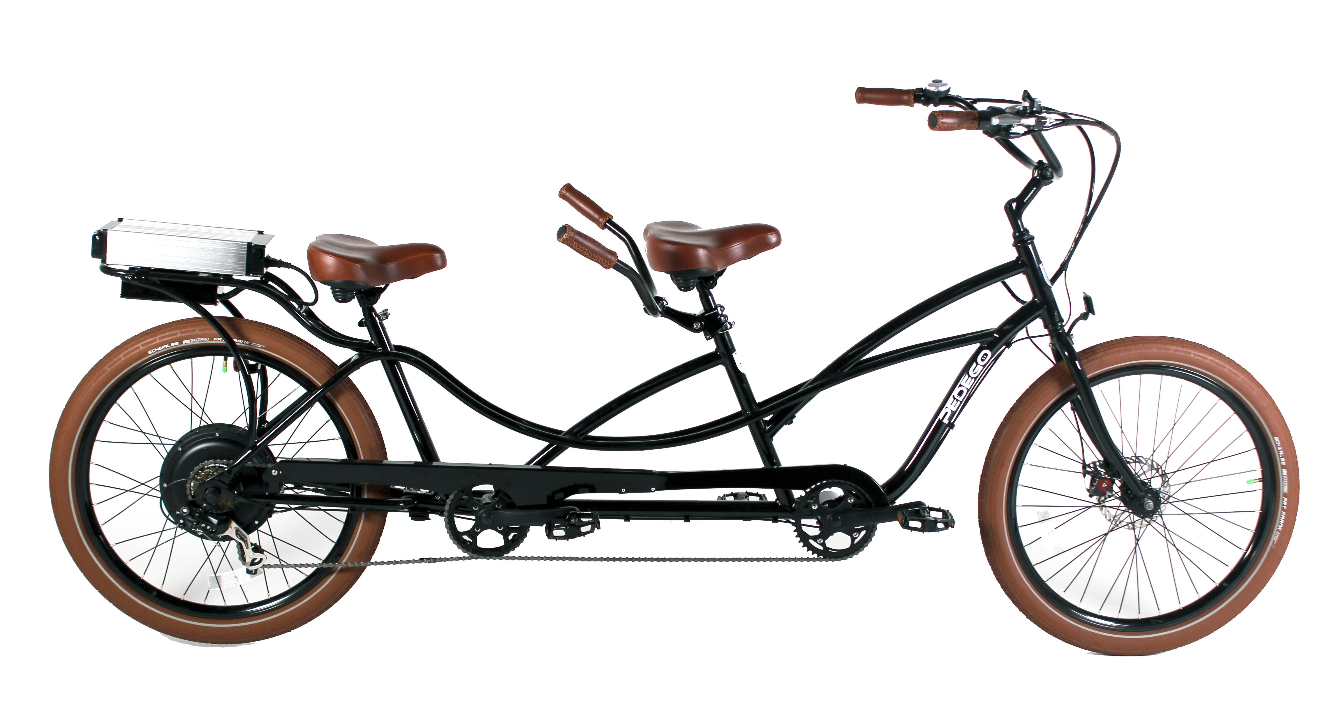 Tandem electric bike with balloon upgrade | Tandems | Pinterest