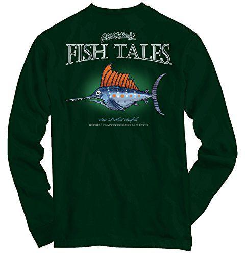 Water Chinook Fish Sporting Goods Fishing Gear Surf Fishing Long Sleeve Tee