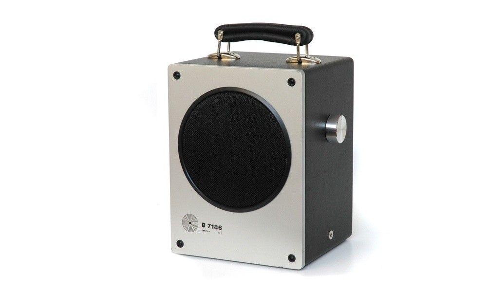 tombox142 - Vintage-Lautsprecher mit modernem Innenleben versehen für beste Klangqualität - living -Wohnaccessoires - Wohnen & Erleben - heimatwerke - Heimatwerke.de
